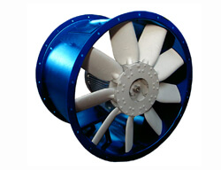 single axial fan