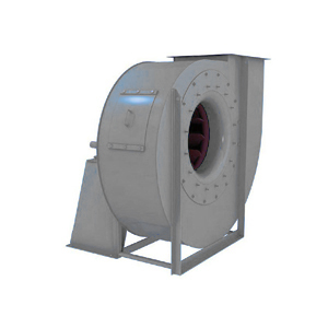 Medium pressure centrifugal fans, transmission by belts and pulleys