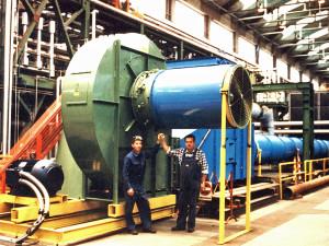 Savio Industrial fans & blowers Factory